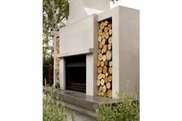 New Look Landscapes Dunedin Fireplace